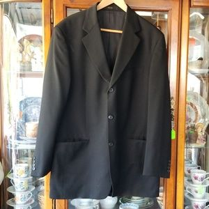 Lord West Men's Suit Jacket Black Size 42 Long